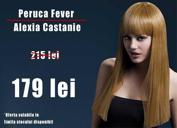 DIscount Peruca Fever Alexia Castanie