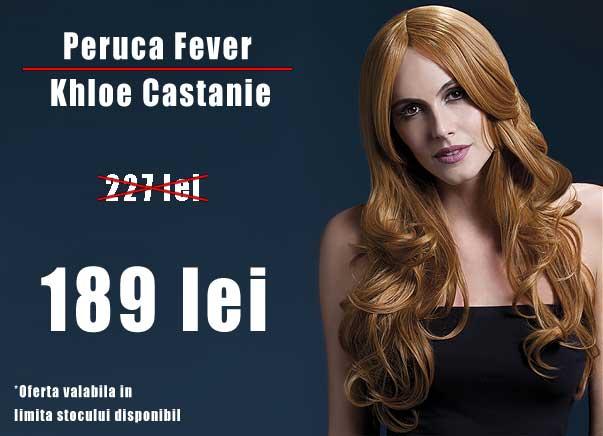 DIscount Peruca Fever Khloe Castanie