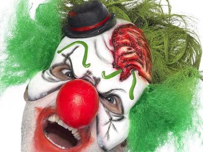 Semi-masca Clovn Halloween 2