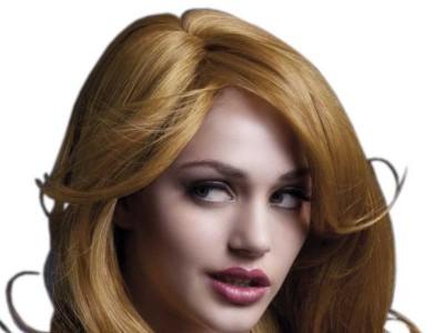 Peruca Fever - Nicole castanie lunga