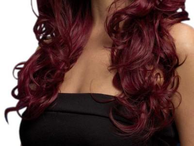 Peruca Fever - Nicole burgund cherry