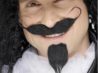 Mustata si barba de muschetar
