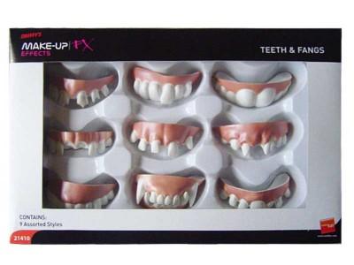 Set 9 dintisori ingrozitori