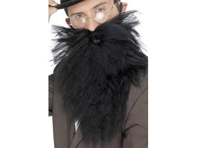 Barba stufoasa neagra