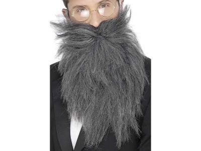 Barba stufoasa gri