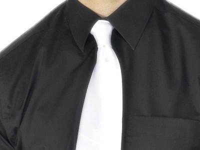 Cravata alba de gangster