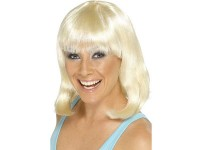 Peruca Cheerleader blond platinat