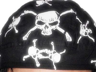Bandana de pirat - cap de mort