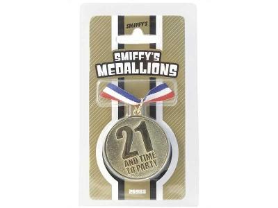 Medalion 21 de ani