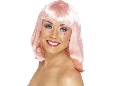 Peruca Party roz deschis