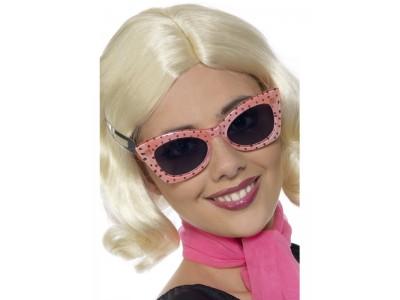 Ochelari de soare stil Polkadot