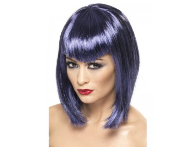 Peruca Vamp violeta