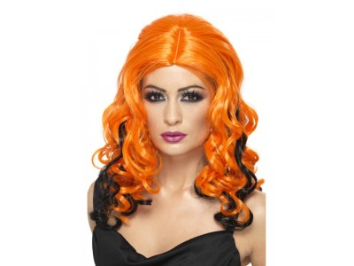 Peruca Witch orange