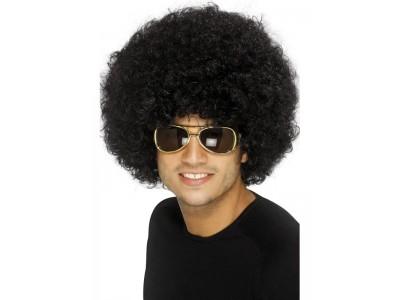 Peruca Funky afro neagra