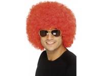 Peruca Funky Afro rosie