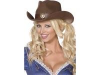 Palarie Cowboy maro - Bijou Boutique