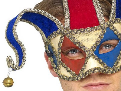Masca venetiana Arlechin