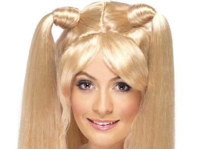 Peruca Spice Girls blonda - Emma Bunton