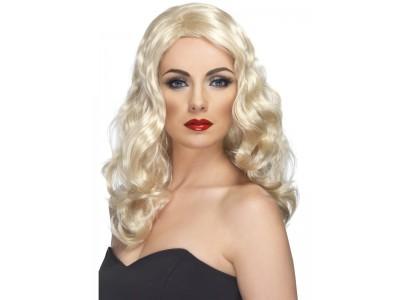 Peruca Glamourous blonda lunga