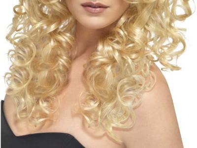Peruca Glamour blonda