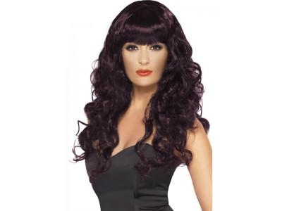 Peruca Sirena Dark Purple
