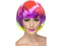 Peruca Funky Babe multicolor